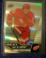 2015-16 Upper Deck Overtime Next in Line #NL7 Dylan Larkin Detroit Red Wings