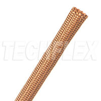 "10Ft (3M)- Techflex NMN0.38CP 3/8"" Copper Nylon Multifilam Sleeving"