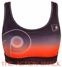 J5 - KLEW NHL Philadelphia Flyers Gradient Sports Bra * NWT Womens XL - #24709