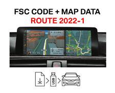 BMW Road Map Europe ROUTE 2022-1 + FSC Code Original BMW Freischaltcode