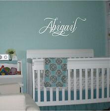 Personalized Name Nursery Decor Vinyl Decal Sticker Wall Sticker 10x23