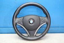BMW 1er E87 118d Bj.09 Leder Lenkrad 6769894 mit Airbag 305166199001-AJ