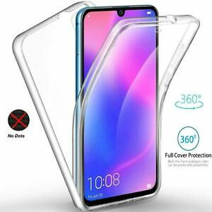 SAMSUNG A90 5g Shockproof 360 Cover Front and Back Case CLEAR