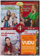 TOWN CHRISTMAS FORGOT/NAUGHTY OR NICE/ITS CHRISTMAS CAROL/WISHING TREE (DVD) NEW