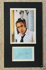 ANTHONY QUINN SIGNED DISPLAY - UACC & AFTAL RD AUTOGRAPH