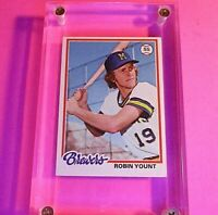 1978 TOPPS #173 ROBIN YOUNT Milwaukee Brewers  EXMT