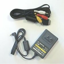 Slim PS1 PlayStation 1 Psone Hookup Connection Kit Power AV 2PCS Brand New 2Z