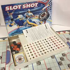 LN Rare Vintage SLOT SHOT HOCKEY NHL Board Game Team Logo Stickers Included