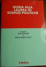 Guida alla laurea in scienze politiche