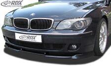 RDX Spoilerlippe für 7er BMW E65 E66 AB Bj. 2005 Front Ansatz Schwert Lippe