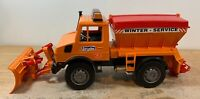 Bruder 02572 MB-Unimog Winter Service with Snow Plough 1:16 Scale