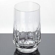 1 edles Becher Glas Poschinger Kristall Vintage Wasserglas Bierbecher Saftglas