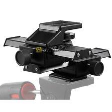 4 way Macro Shot Focusing Focus Rail Slider for CANON NIKON SONY Camera D-SLR US