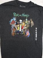 Rick and Morty Cast Barbecue BBQ Adult Swim Cartoon T-Shirt
