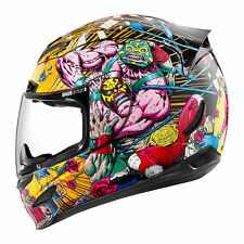 Icon Airmada Rudos Full Face Motorcycle Motorbike Crash Helmet - Black