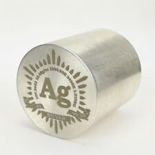 Pre-Sale 1Kg Finish Turning Silver Metal Cylinder 50×50mm 99.99%