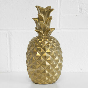 Extra Large Gold Pineapple Ornament Home Decoration Accessories Gift Statue