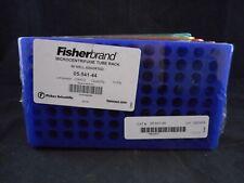FISHERBRAND Plastic 96-Well Microcentrifuge Tube Rack Assorted 05-541-44 5/PACK