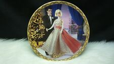 "Enesco ""Holiday Dance 1965"" Barbie Collector's Plate 8.25"" (NIB)"