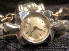 Beautiful Vintage Wittnauer 14 K Solid White Gold 17 Jewel Working Swiss Watch