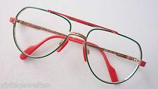 Benetton bunte Kinderbrille mit großer Pilotenform Metallfassung für Jungs Gr. L