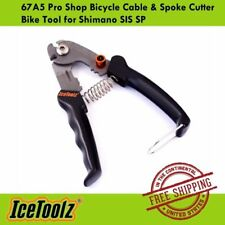 IceToolz 67A5 Pro Shop Bicycle Cable & Spoke Cutter Bike Tool for Shimano SIS SP