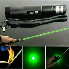 More details for 10miles laser pointer pen green light 532nm lazer hiking flashlights torches