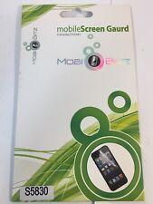 Genuine Original - Mobi Bitz - Screen Protector- Samsung Galaxy Ace S5830