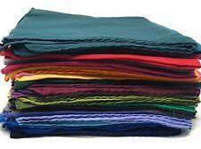 Baumwolltuch einfarbiges Tuch uni Halstuch Baumwolle Schal Bandana 100 x 100 cm
