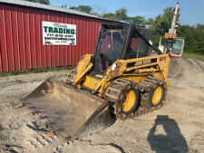 1998 John Deere 6675 Skid Steer Loader With Cab Tracks Weight Kit Only 800 Hours
