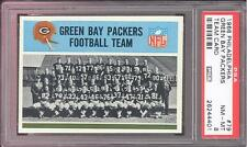 1966 Philadelphia #79 Green Bay Packers Team PSA NM-MT 8 Starr Nitschke Taylor