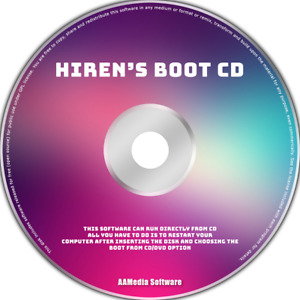 Hiren's BootCD PE x64 - Diagnore & Repair PC and Laptop Bootable DVD