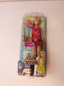 NIB -Disney Channel Hannah Montana Doll - Hannah's Summer Must Haves!