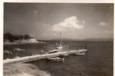 DO169 Photographie photo vintage snapshot Porquerolles gien