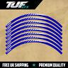 "YAMAHA YZ YZF 125 250 450 MOTOCROSS RIM DECALS GRAPHICS 21"" 19"" BLUE - BLADE"
