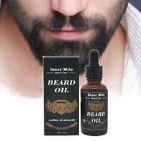 Beard Balm Natural Oil Conditioner Beard Care Moustache Oil Men Grooming AXL5