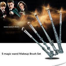 5Pcs Magical Story Fans Power Contour Cosmetic Makeup Brushes Set Kit Gift