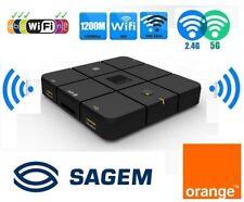 Cpl repeteur Wifi Extender Routeur Intelligent norme B/g/n/ac 1200 Mbps Orange