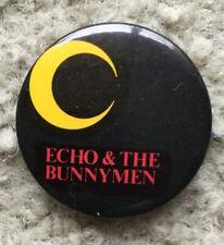 Echo & the Bunnymen badge (Uk New Wave band, original) Killing Moon