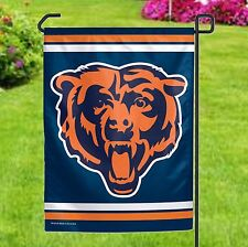 Chicago Bears Official Nfl Garden Flag - Includes Flagpole