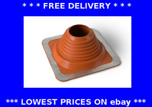 6-146mm Masterflash red roof flashing water rain chimney pipe weather seal