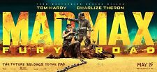 MAD MAX FURY ROAD MOVIE 24x36 poster Tom Hardy Charlize Theron BRAND NEW ACTION!