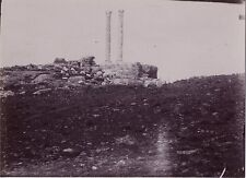 Maghreb Ruines Romaines Vintage citrate ca 1900