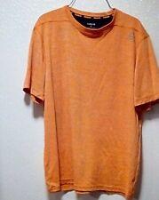 Reebok Men's Short Sleeve Active Tee Shirt - Orange - Size Medium