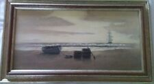 Gregory G.S. HILL (b.1944), Original Oil Painting, Nautical, Maui 1978, 9 x 18