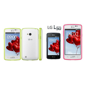 LG L50 D227 d213 Original WIFI GPS 3G GSM 3MP Smart phone 4'' 4GB ROM 512MB RAM