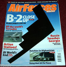 Air Forces Monthly Magazine 2008 October RNLAF,B2,Tornado