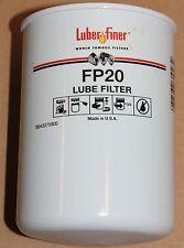 Bobcat Caterpillar John Deere Renault Zetor Lube Filter FP20 Luber-Finer New