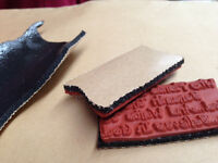WE WILL TRIM YOUR UNMOUNTED RUBBER STAMP SHEETS, DOUBLE STICKY MOUNTING CUSHION