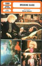 BREAKING GLASS - Daniels,O'Connor,B.Gibson (Fiche Cinéma) 1980